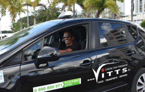 chauffeur taxi disponible avec ou sans réservation en guadeloupe